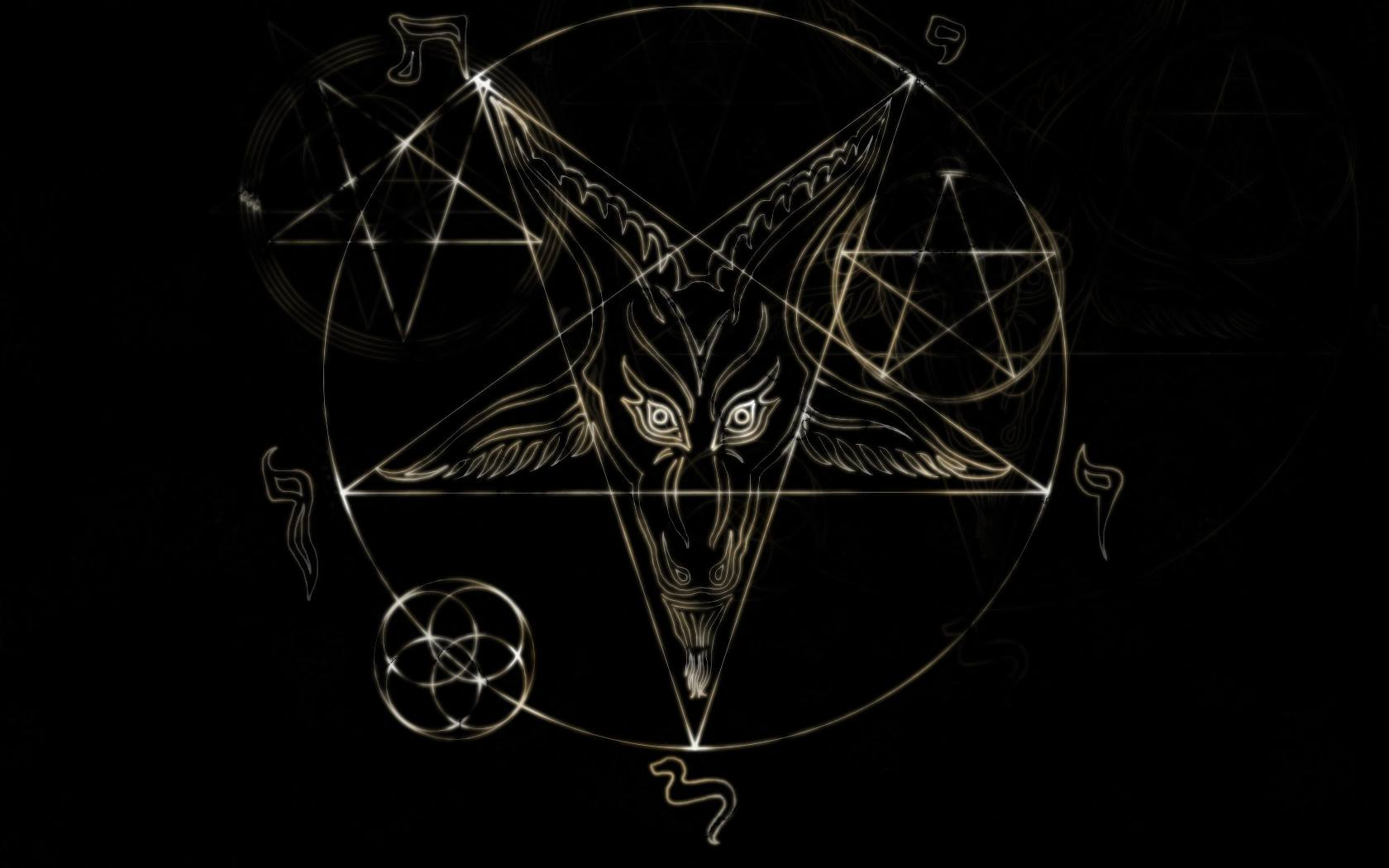 Satan wallpapers wallpapersafari 1680x1050 satanic symbols wallpaper do i know that satan really biocorpaavc Choice Image