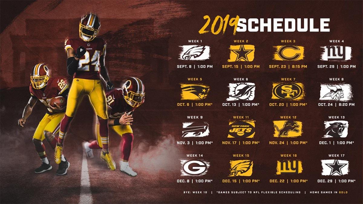 Washington Redskins Desktop Wallpaper posted by Zoey Thompson 1200x675