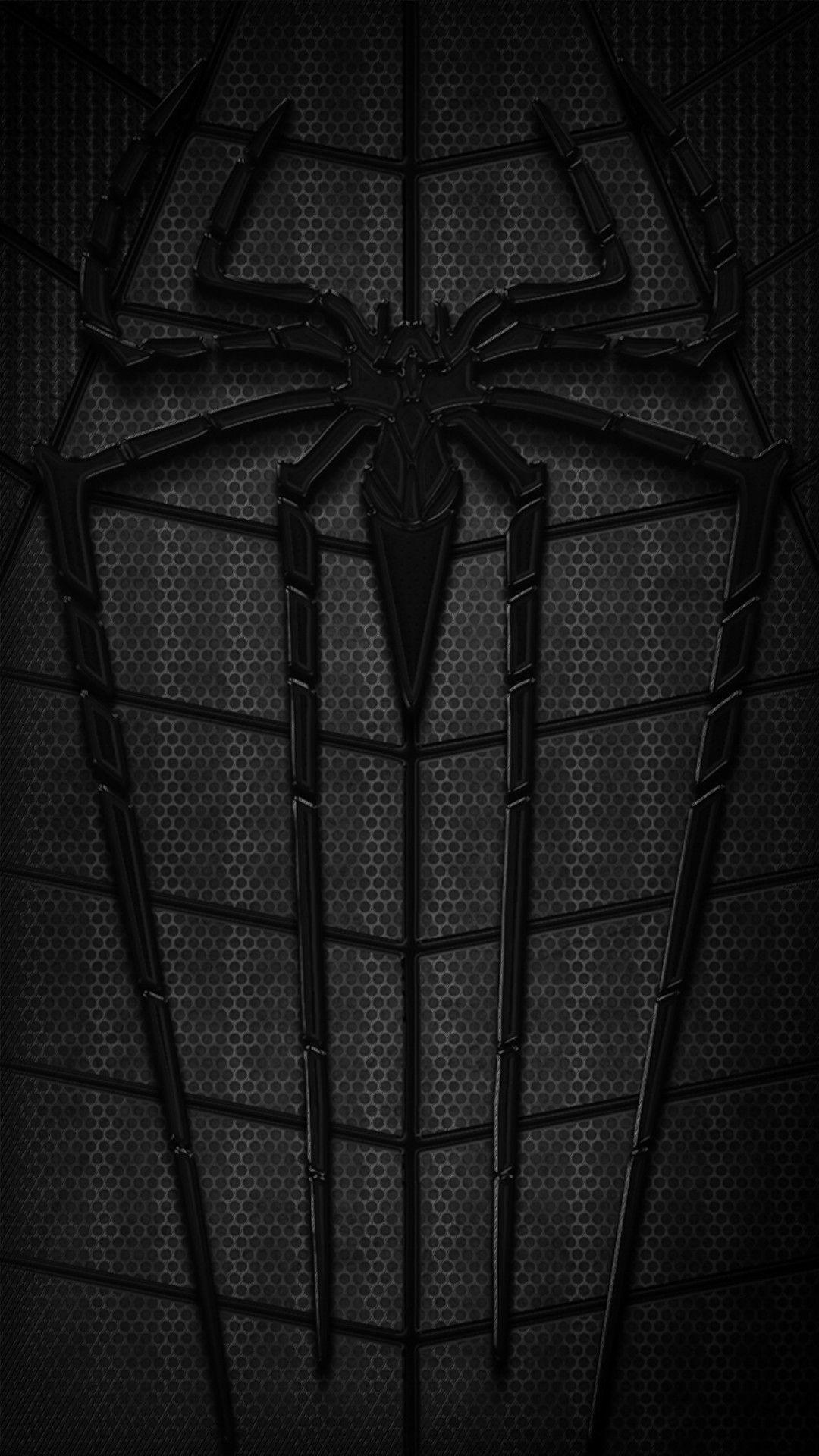 Spider Man Logo White Phone Wallpapers   Top Spider Man Logo 1080x1920