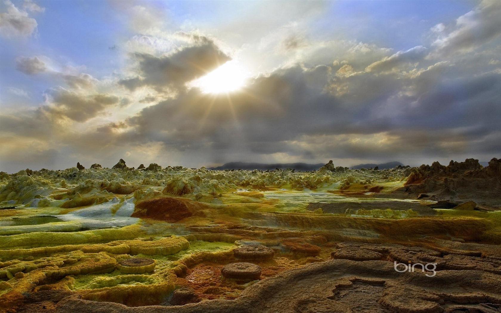 Windows Theme 7 Bing le soleil cran large cran HD   1680x1050 1680x1050