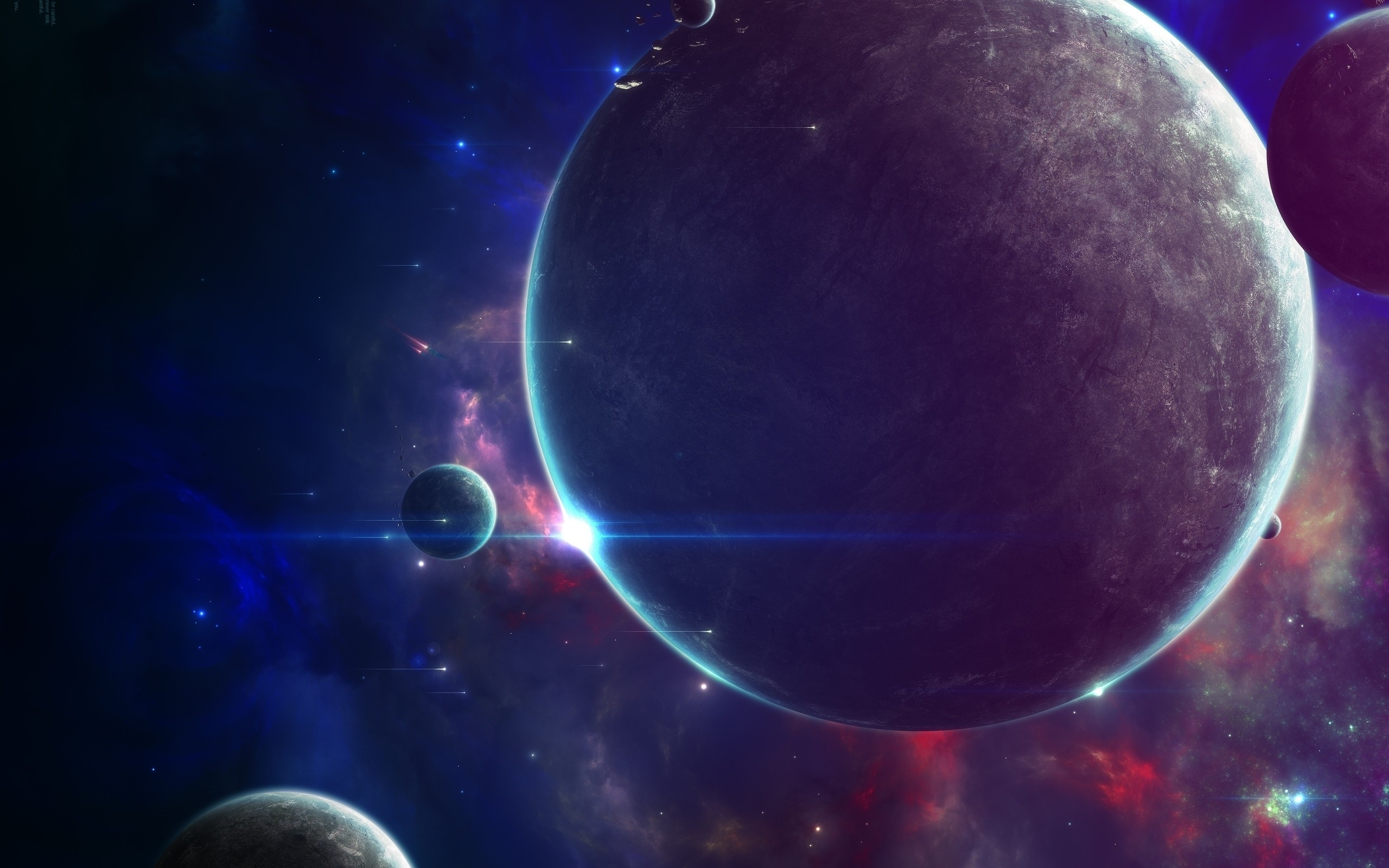 wallpaper outer space futuristic planets categories space views 229 2560x1600