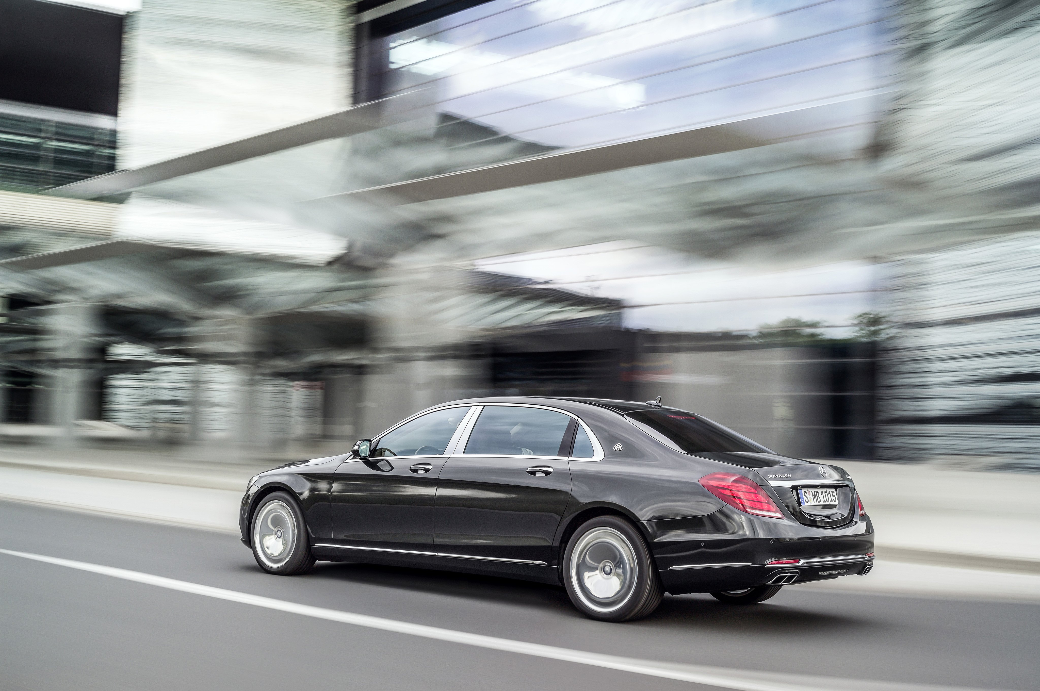2015 Mercedes Benz Maybach S600 X222 luxury wallpaper 4096x2722
