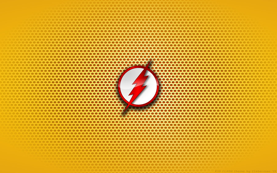 Wallpaper   Kid Flash Comix Logo by Kalangozilla 900x563