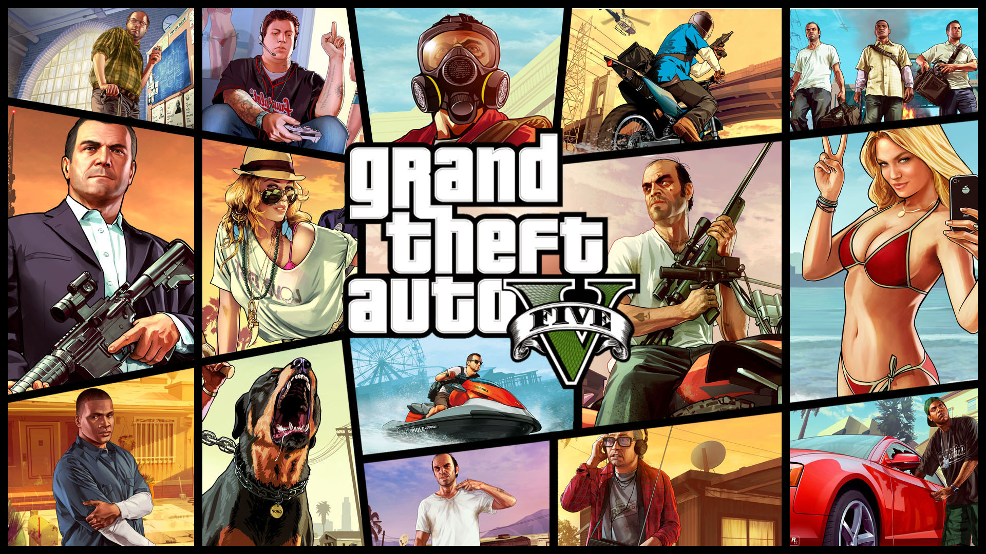 Grand Theft Auto V GTA 5 games Wallpapers 16jpg 1920x1080