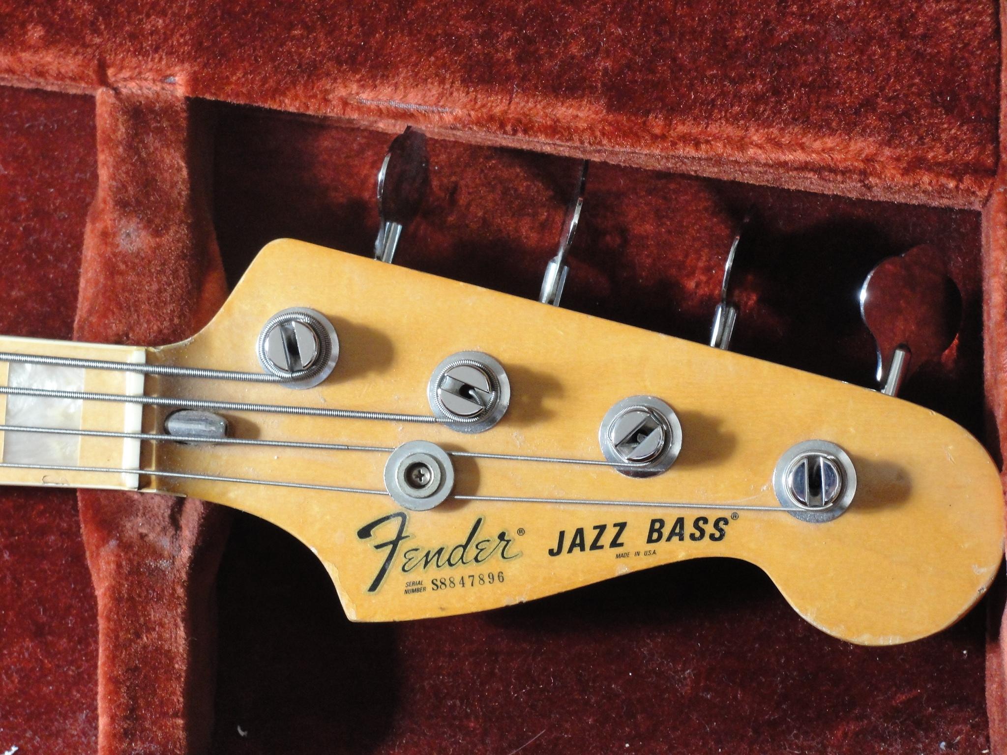 Fender Jazz Bass Wallpaper Vintage fender jazz bass 1978 2048x1536