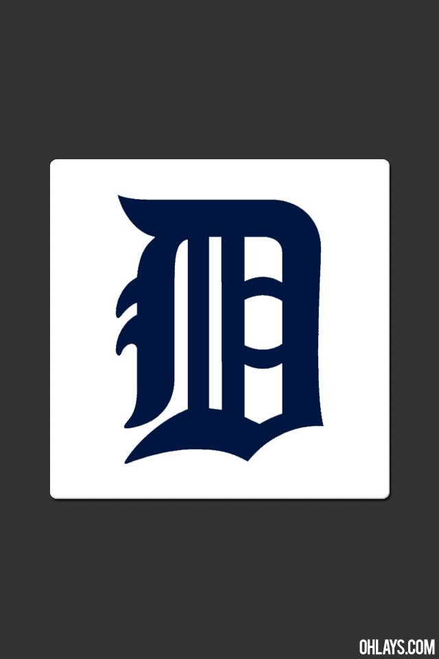 Detroit Tigers iPhone Wallpaper 5749 ohLays 640x960