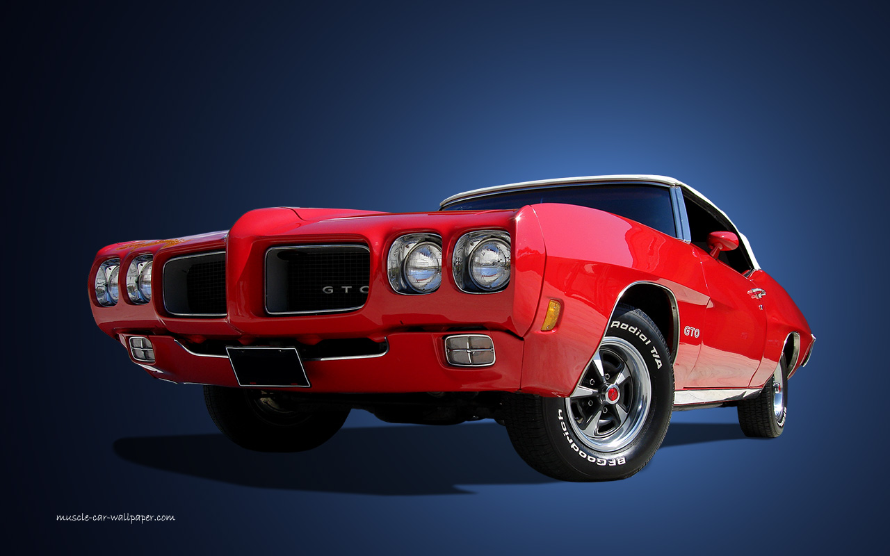 1970 gto judge wallpaper red hardtop 1440 01 Car Pictures 1280x800