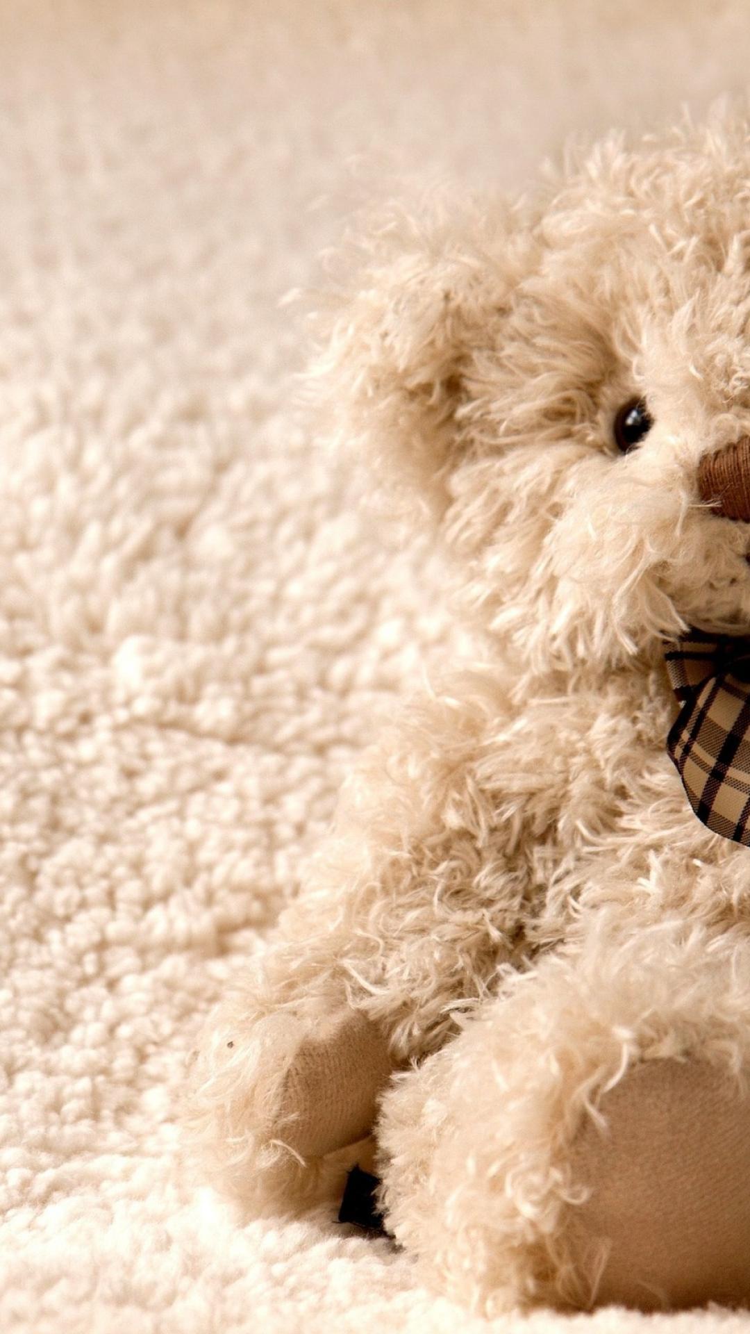 Cute teddy bear wallpaper 86260 1080x1920