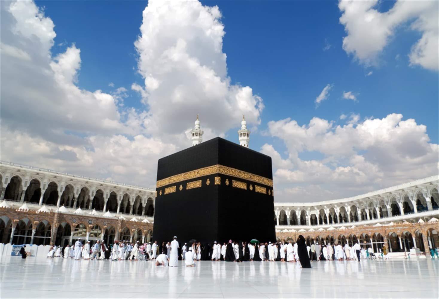 Amazoncom LFEEY 12x10ft Vinyl Kaaba in Mecca Saudi Arabia 1468x1000