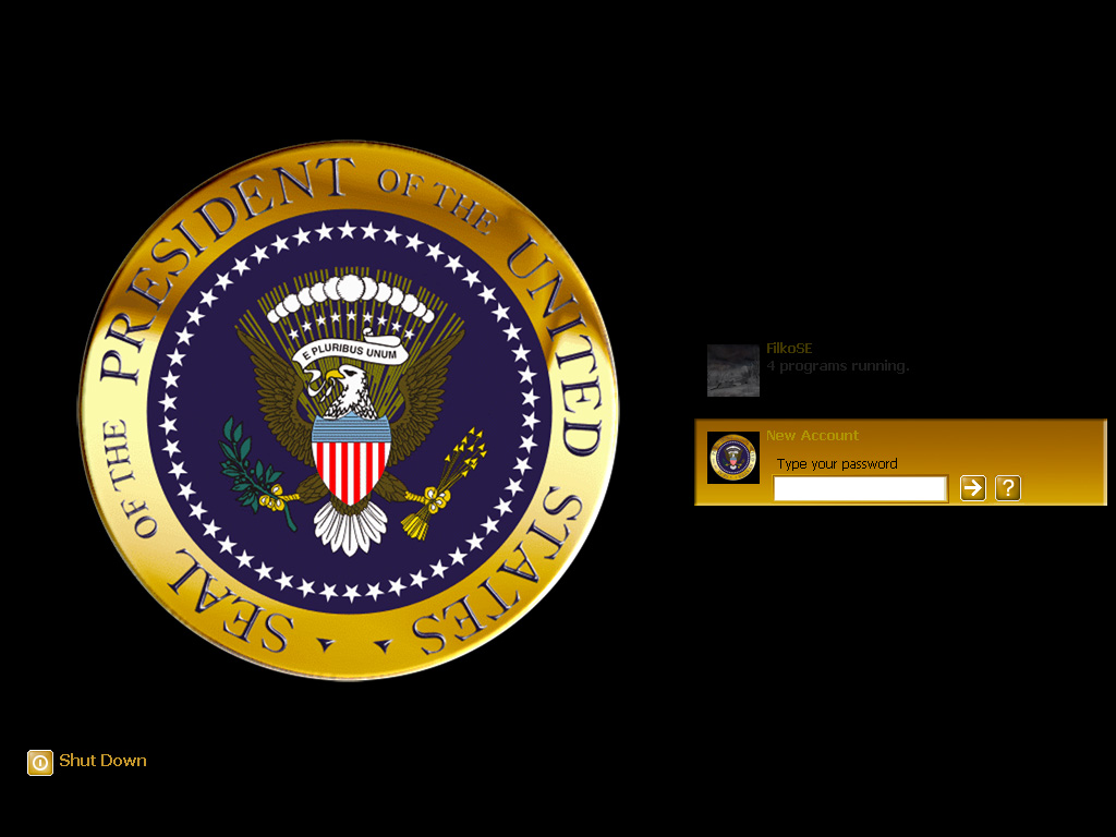Animated cia wallpaper wallpapersafari wincustomize explore logonstudio xp presidents seal voltagebd Images