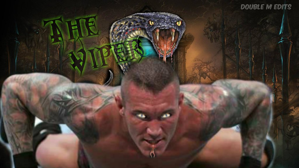 Randy Orton Viper Logo Wallpaper Randy orton viper wallpaper by 1024x576