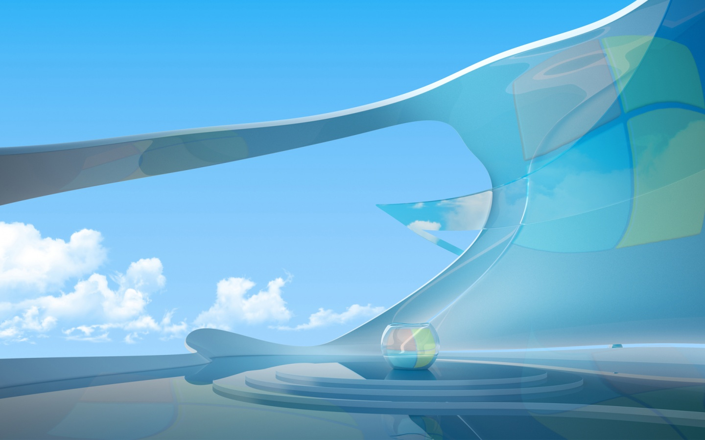 Technology Management Image: Windows 10 Futuristic Wallpaper
