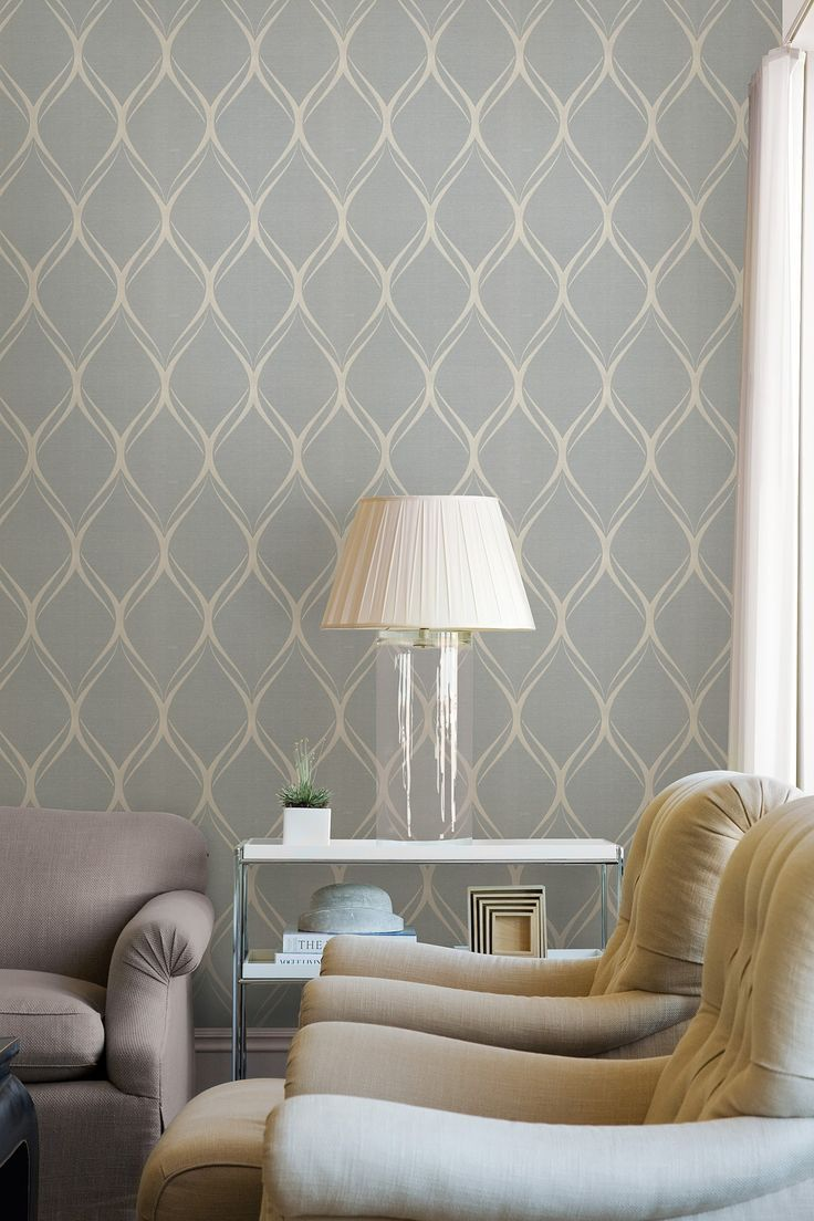 Room Grey Geometric Wallpapers Wallpapers Ideas Ironwork Wallpapers 736x1104