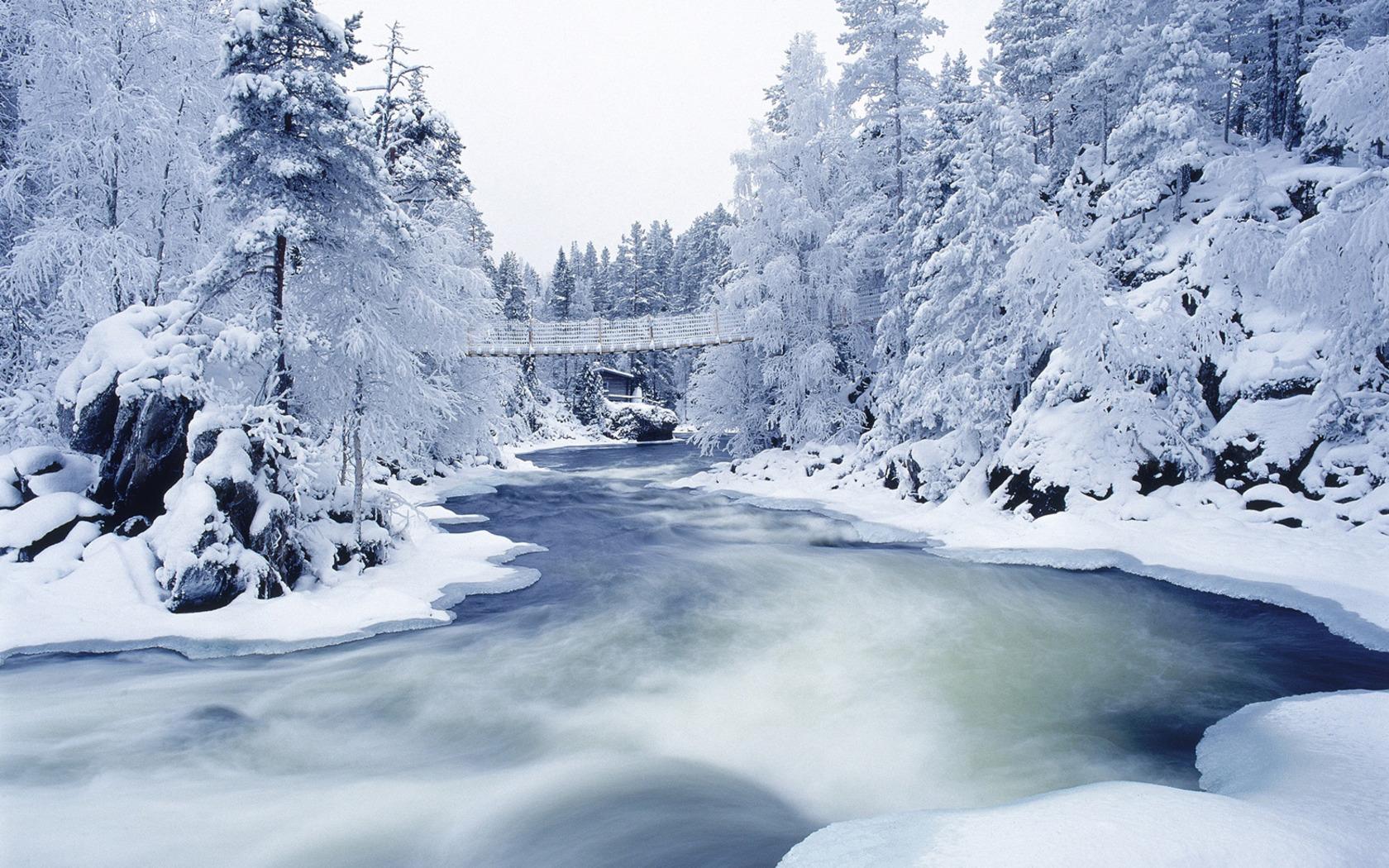 Maravillosos wallpapers con paisajes nevados en HD   Mil Recursos 1680x1050