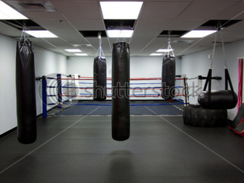 empty boxing gym - photo #18