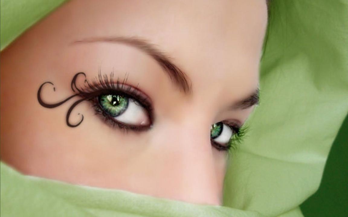 Green Eyes Wallpaper   8155 1152x720