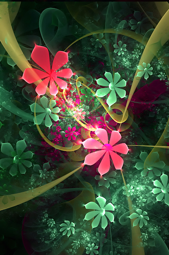 Wallpapers   Flower art iPhone 4 Wallpaper Latest Mobile Phones 341x512