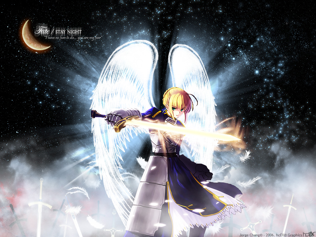 ]wallpapers fate stay night honchay 1024x768 Anime wallpapers 1024x768