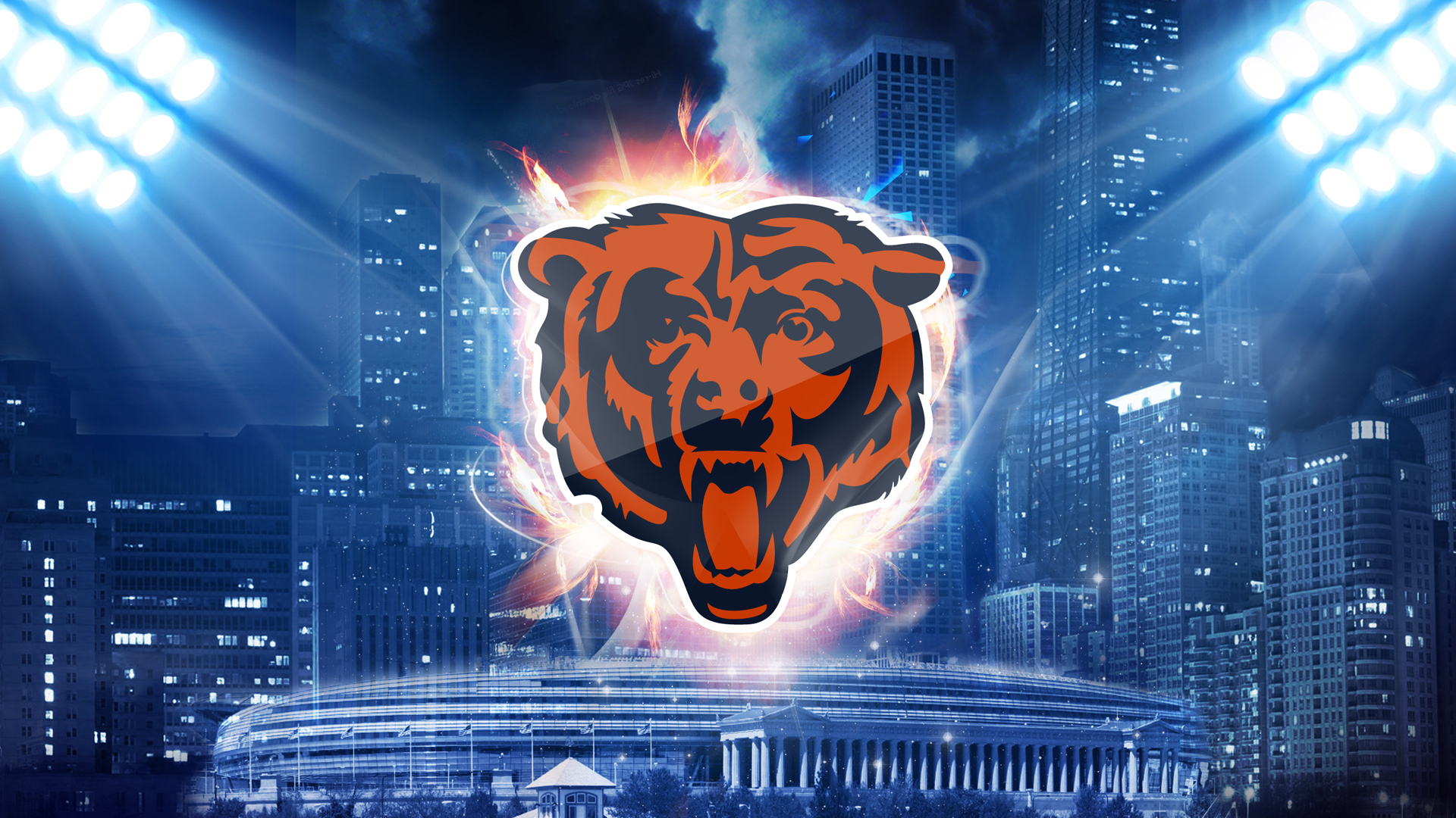 Gallery For gt Chicago Bears Wallpaper 2013 1920x1080