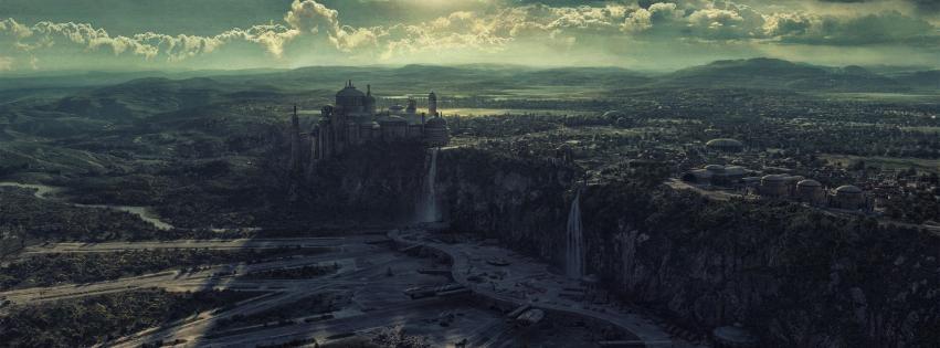 Naboo star wars landscapes HD wallpaper 851x315
