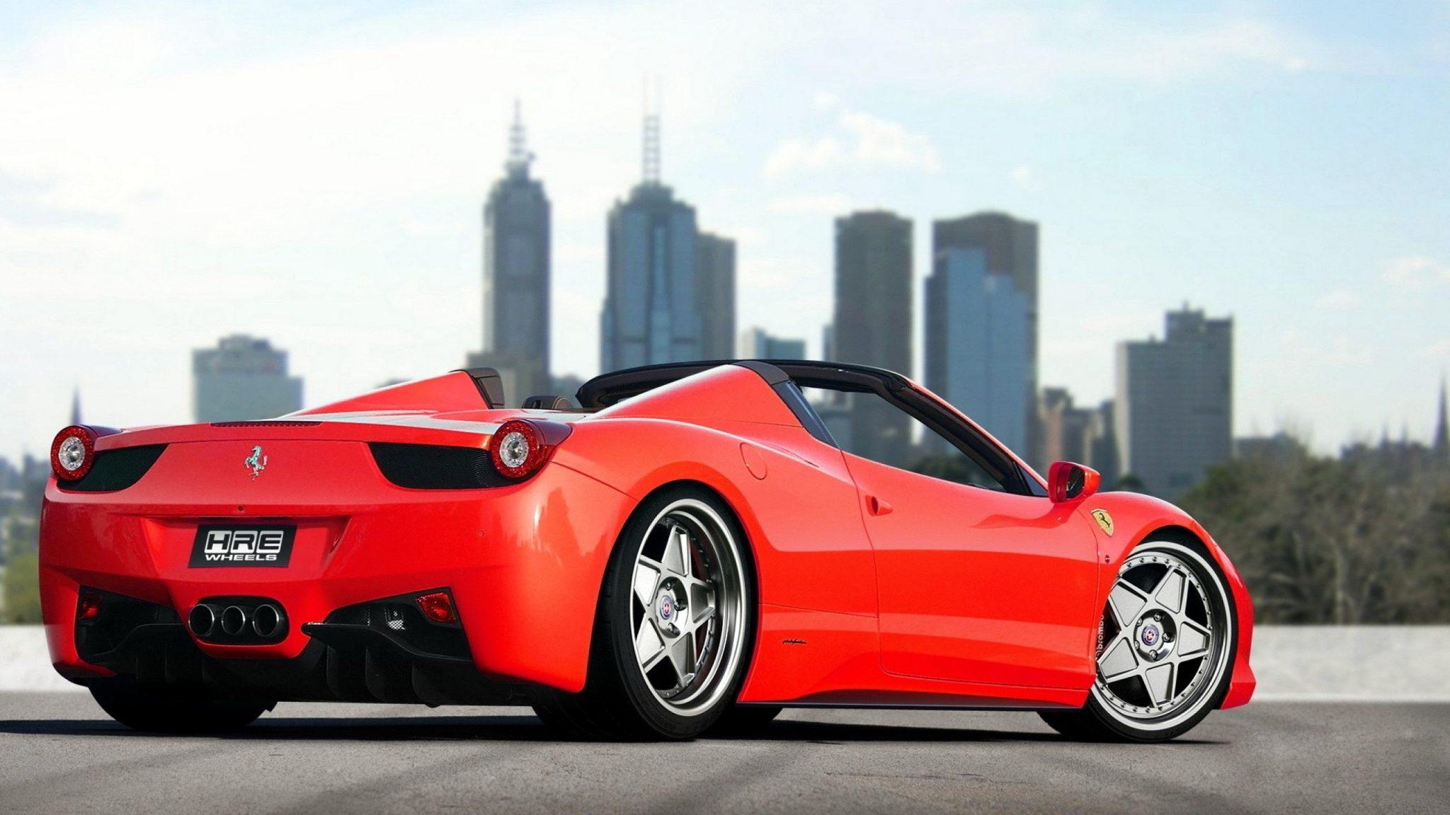 Free Download Ferrari 458 Italia Spider Full Hd Wallpaper