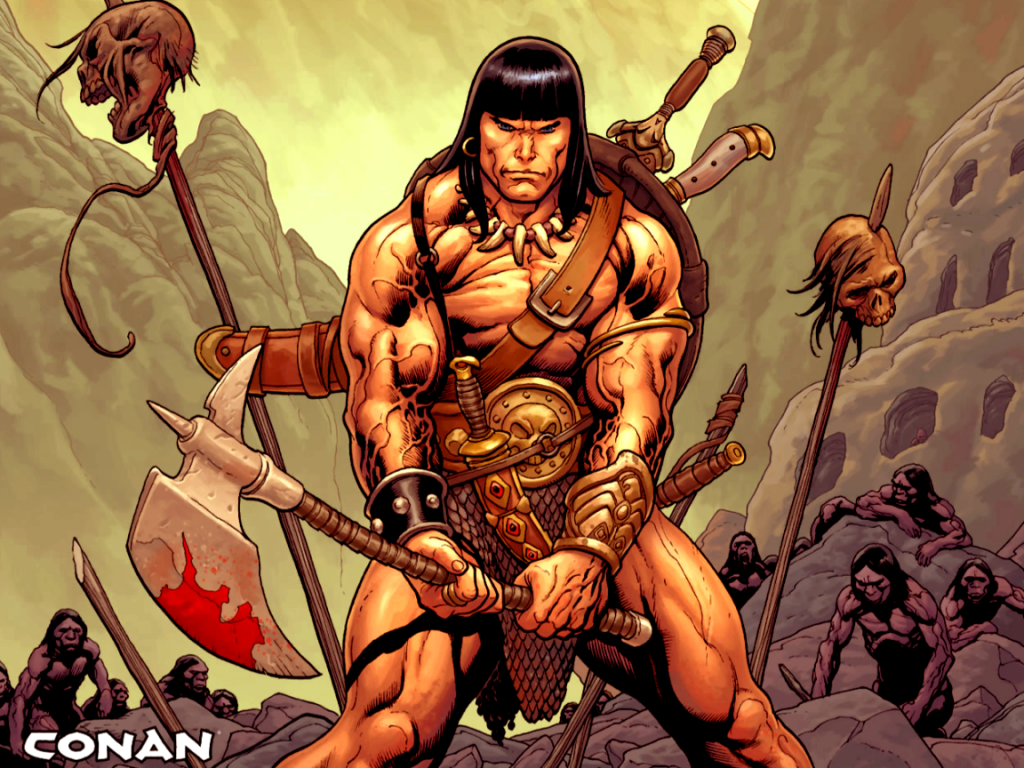 conan the barbarian wallpaper 1 SUPERVERSITY 1024x768