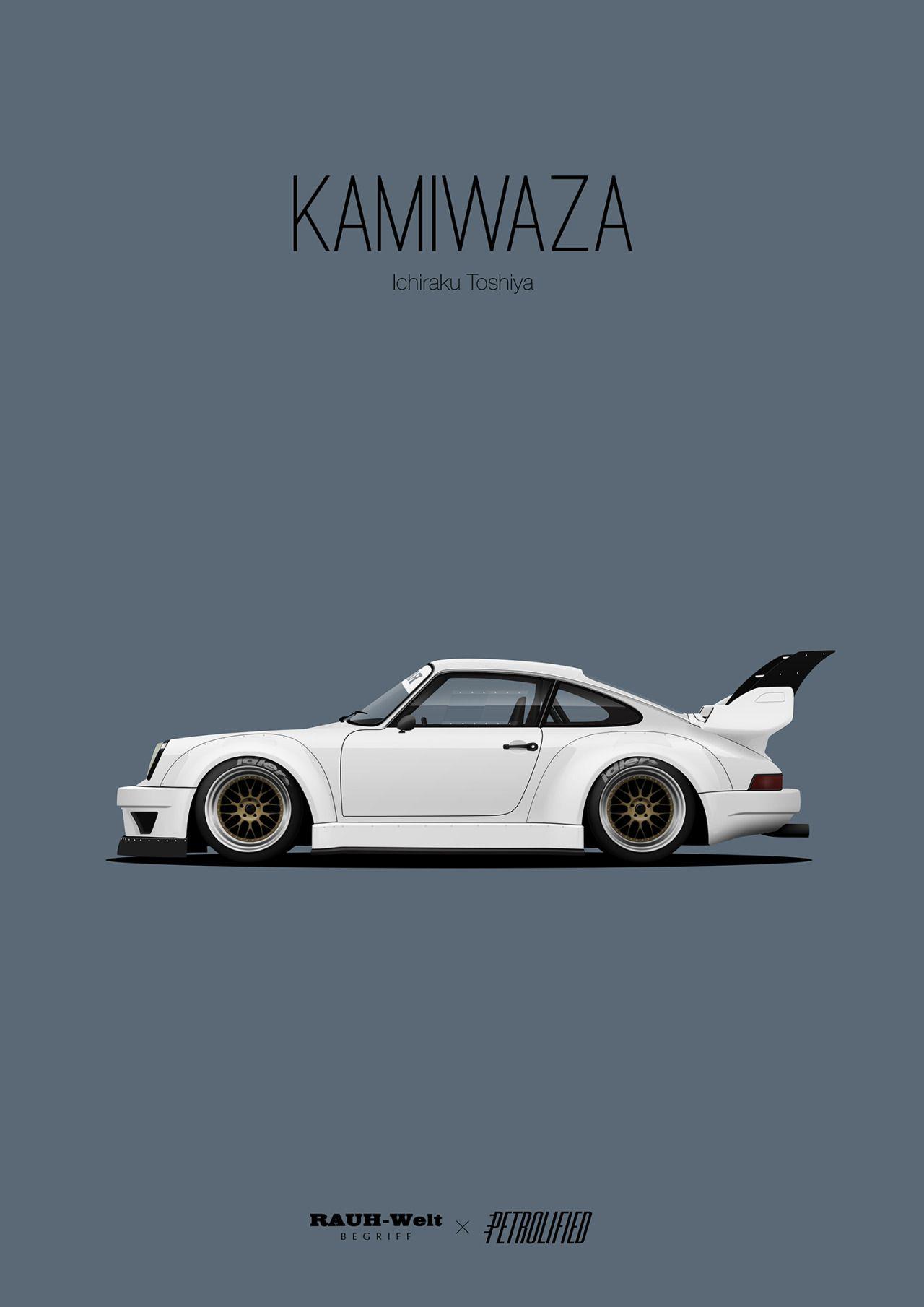 rwb Tumblr Art cars Porsche Automotive artwork 1280x1810