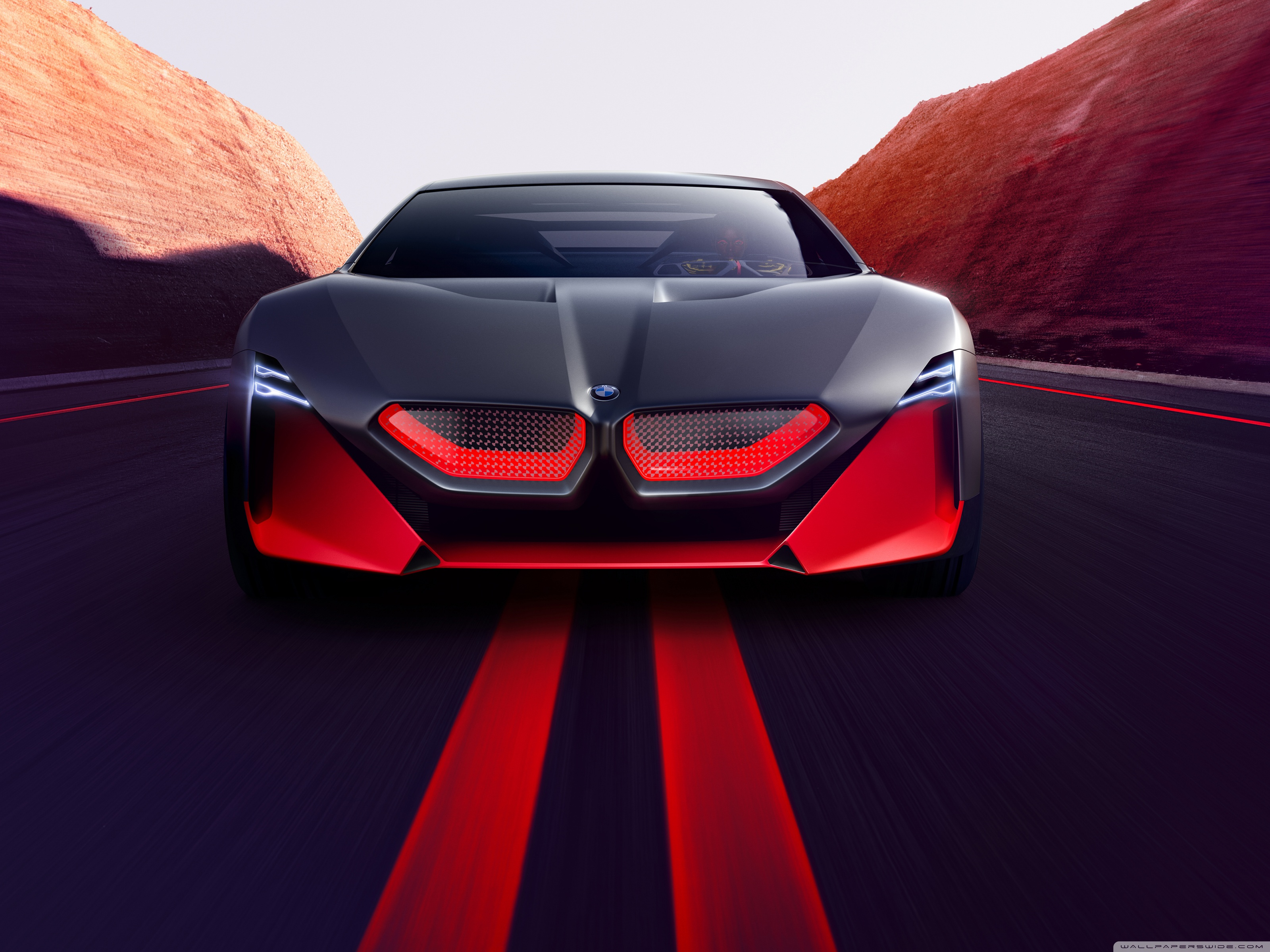 2019 BMW Vision M NEXT Sports Car Road 4K HD Desktop Wallpaper 3200x2400