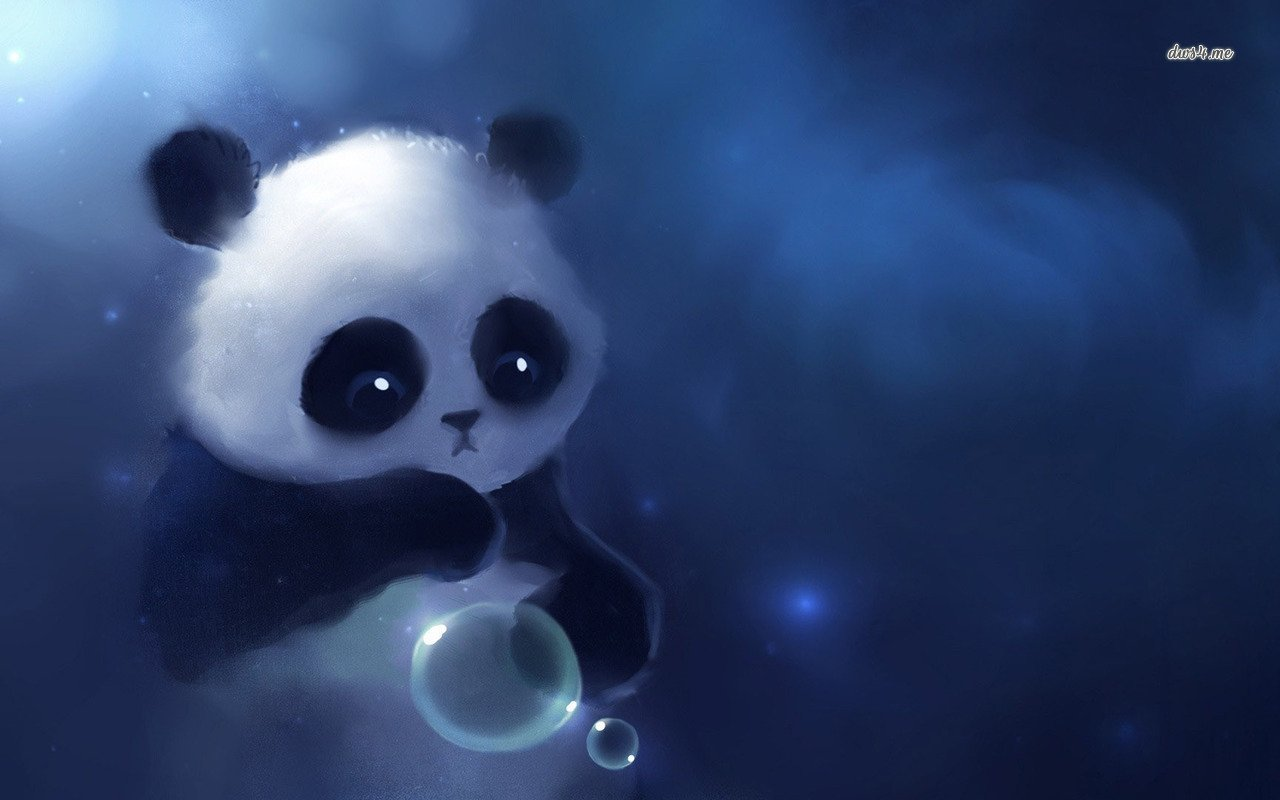 Pics Photos   Cute Panda Baby Background Hd Wallpaper Cute 1280x800