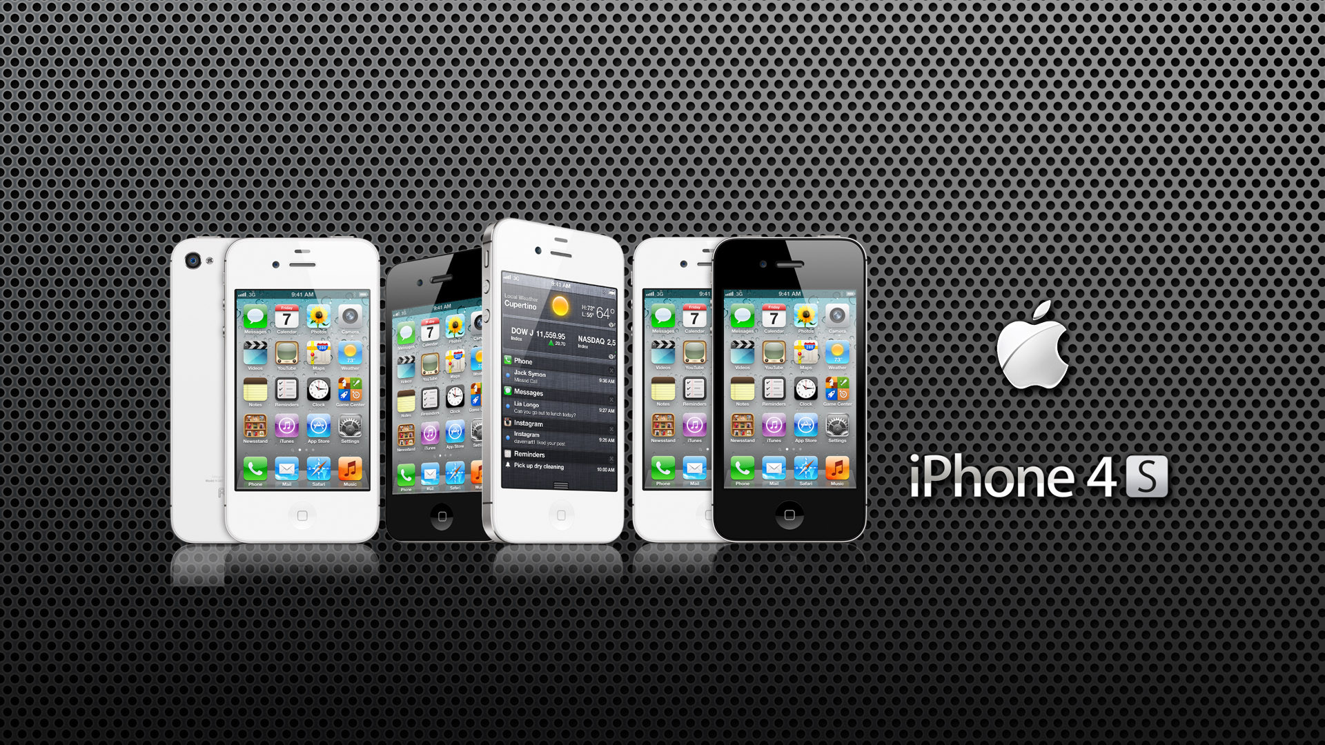 Iphone 4s Wallpaper Apple iPhone 4S 1920x1080