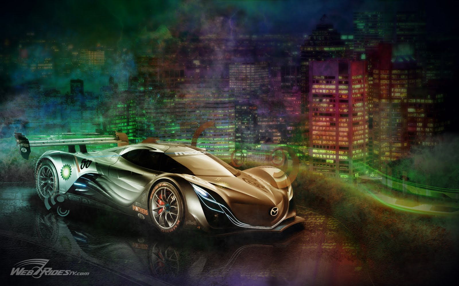 Concept car magazine cool car wallpapers - Mazda Furai Concept Car 1920x1200 High Definition Desktop Backgrounds