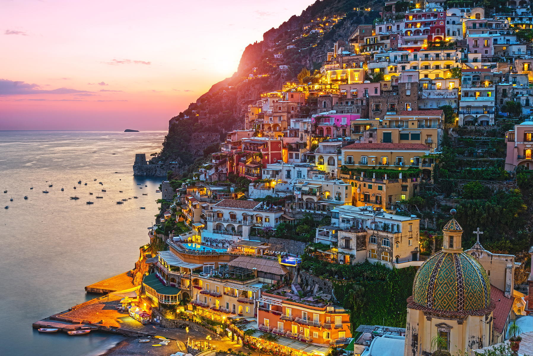 42 Positano Wallpaper On Wallpapersafari