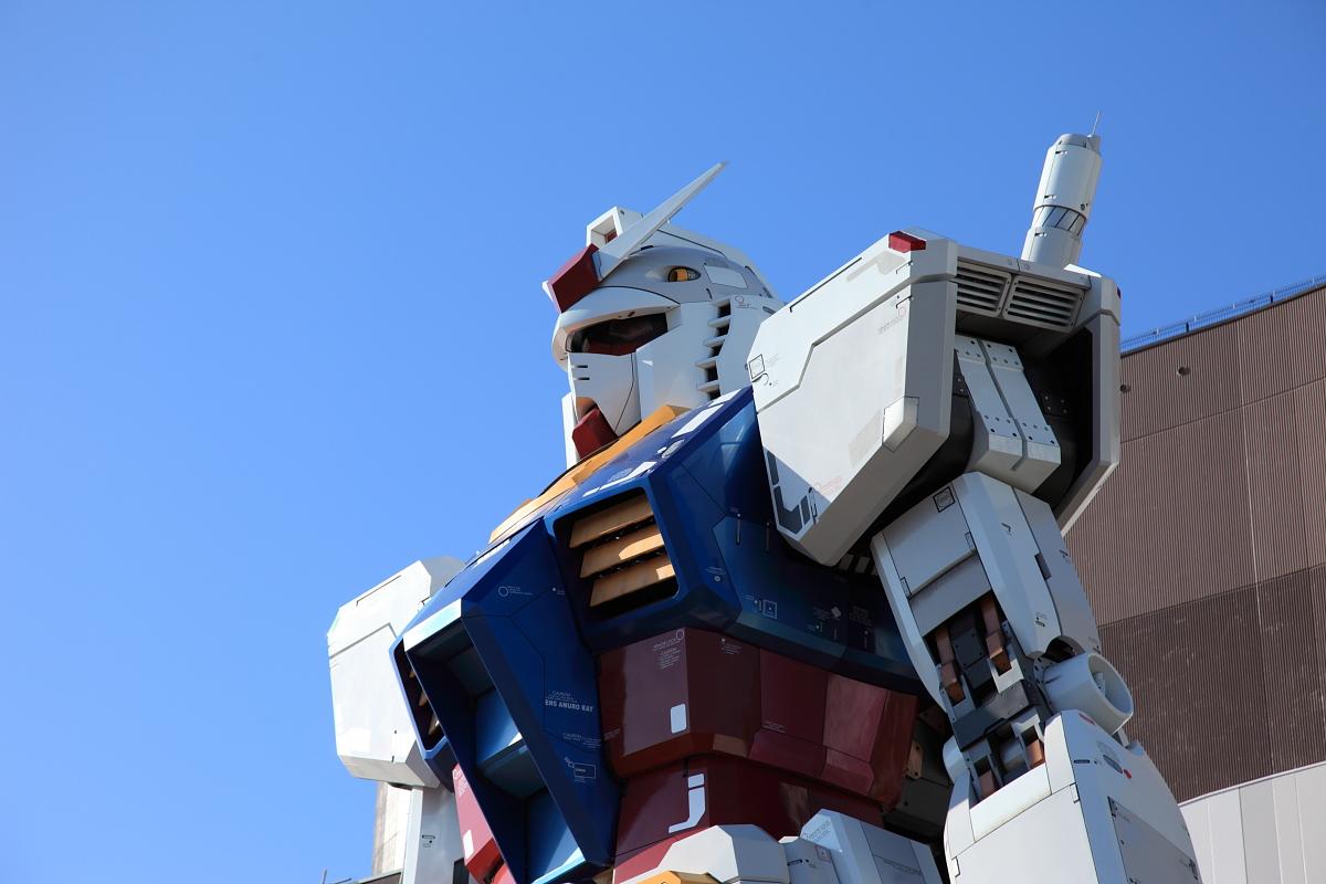 11 Life Size Gundam Statue Diver City Tokyo Odaiba new 1200x800