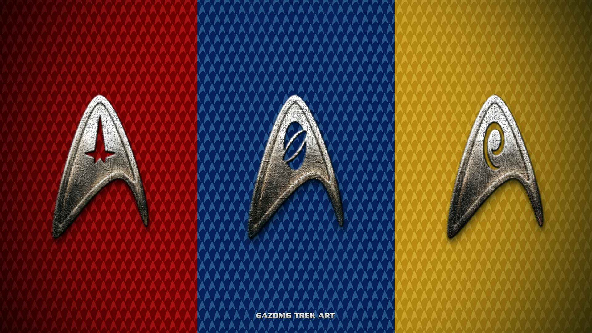 Free Download Star Trek Insignia Wallpaper By Gazomg