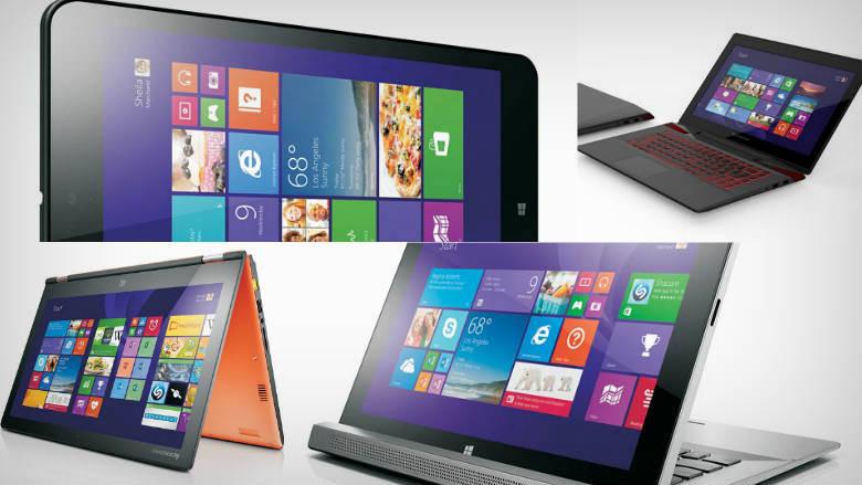Lenovos 2014 lineup ThinkPad X1 Carbon Yoga 2 and Miix 2 tablets 780x439