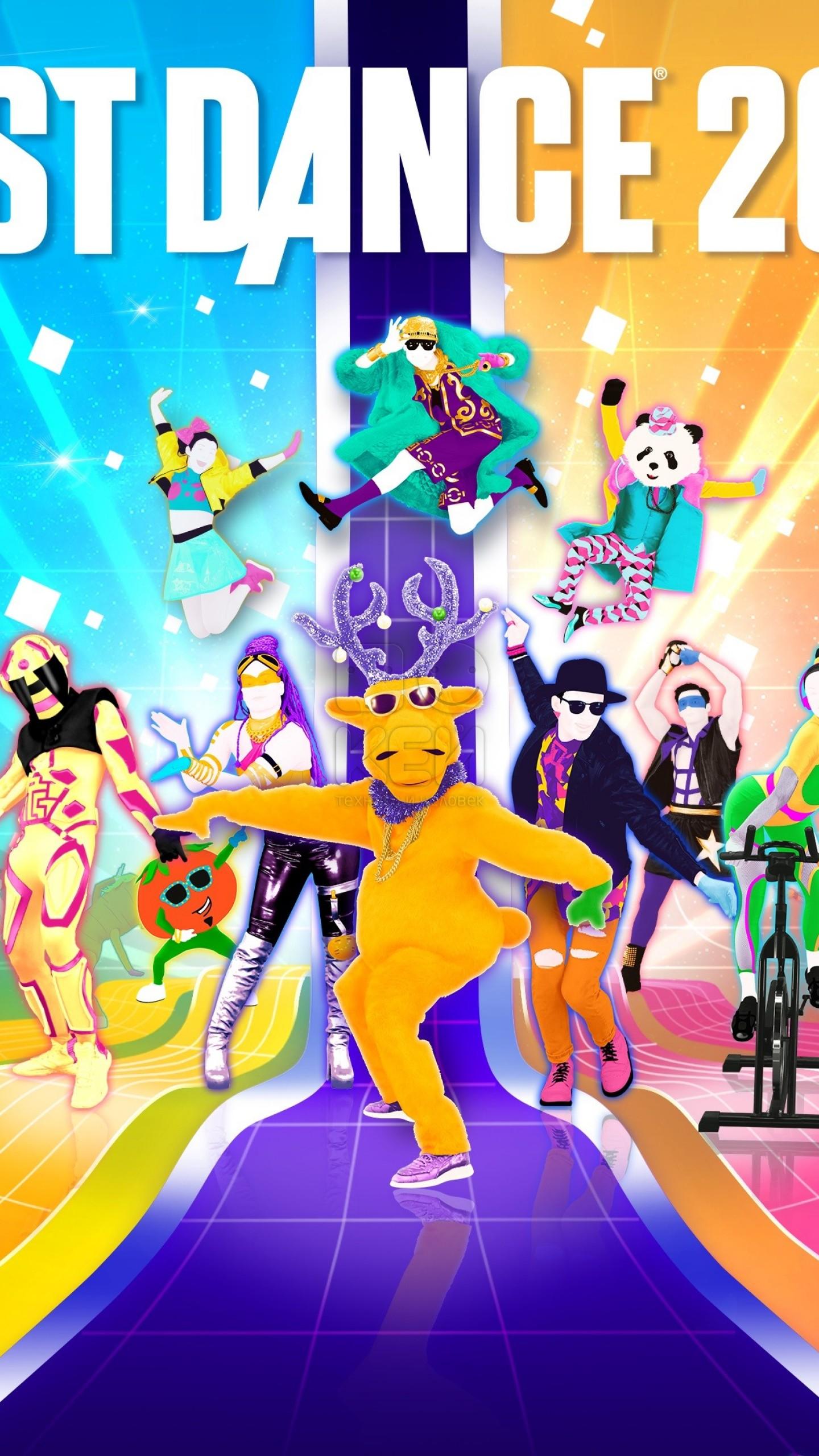 Wallpaper Just Dance 2018 4k E3 2017 poster Games 14345 1440x2560