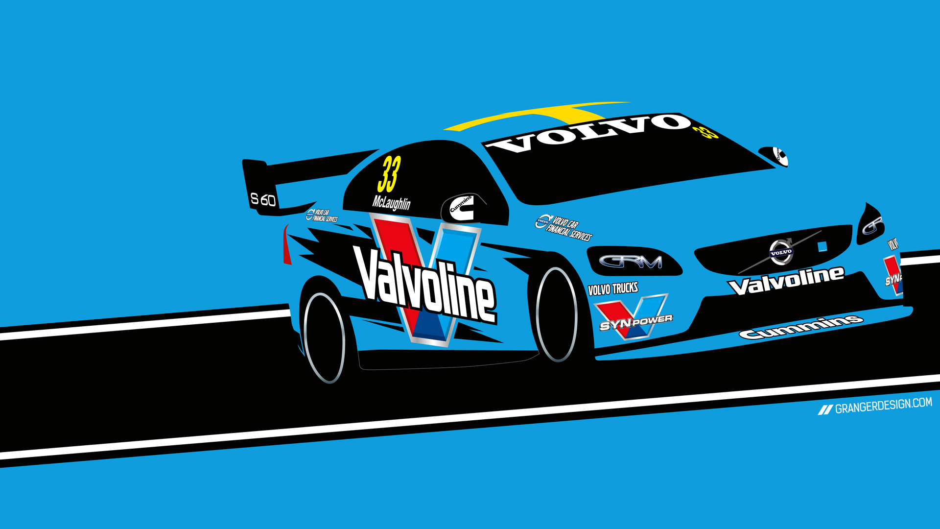 V8 Supercar Wallpapers Mclaughlin Lowndes Whincup 1920x1080