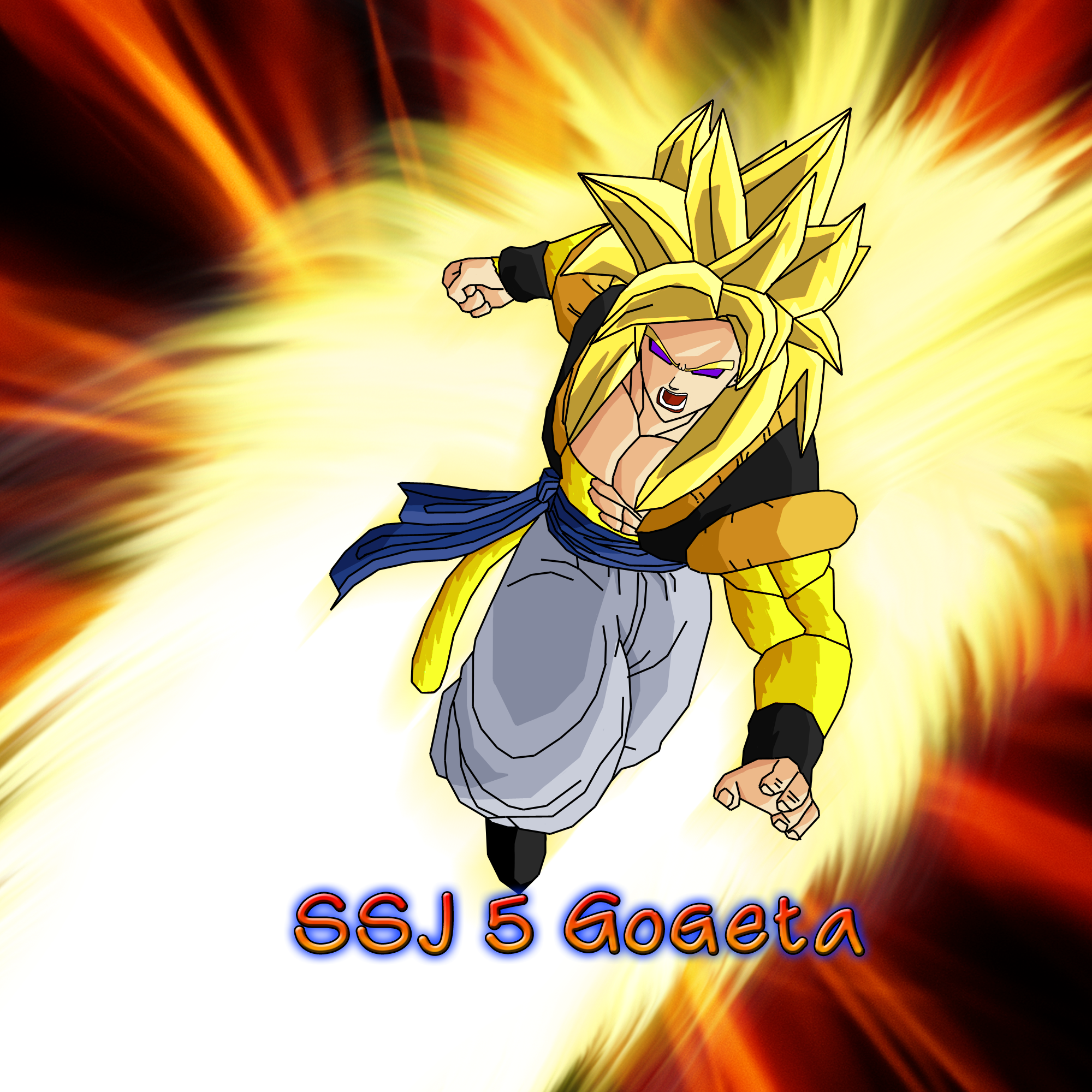 Gogeta wallpaper wallpapersafari for Deviantart wallpaper