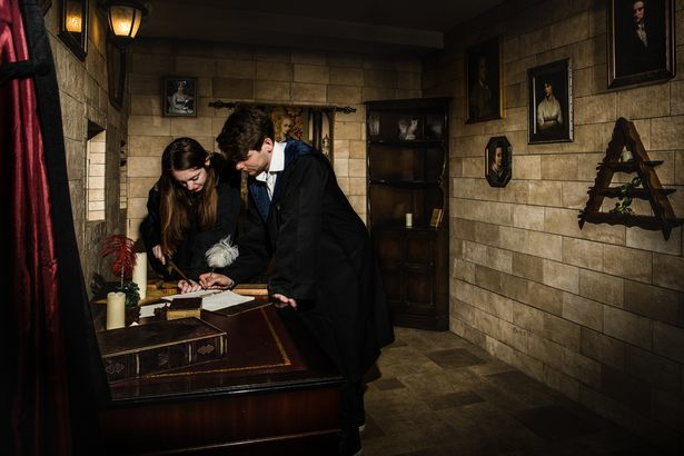 Magical Escape Rooms Harry Potter Escape Room 615x410
