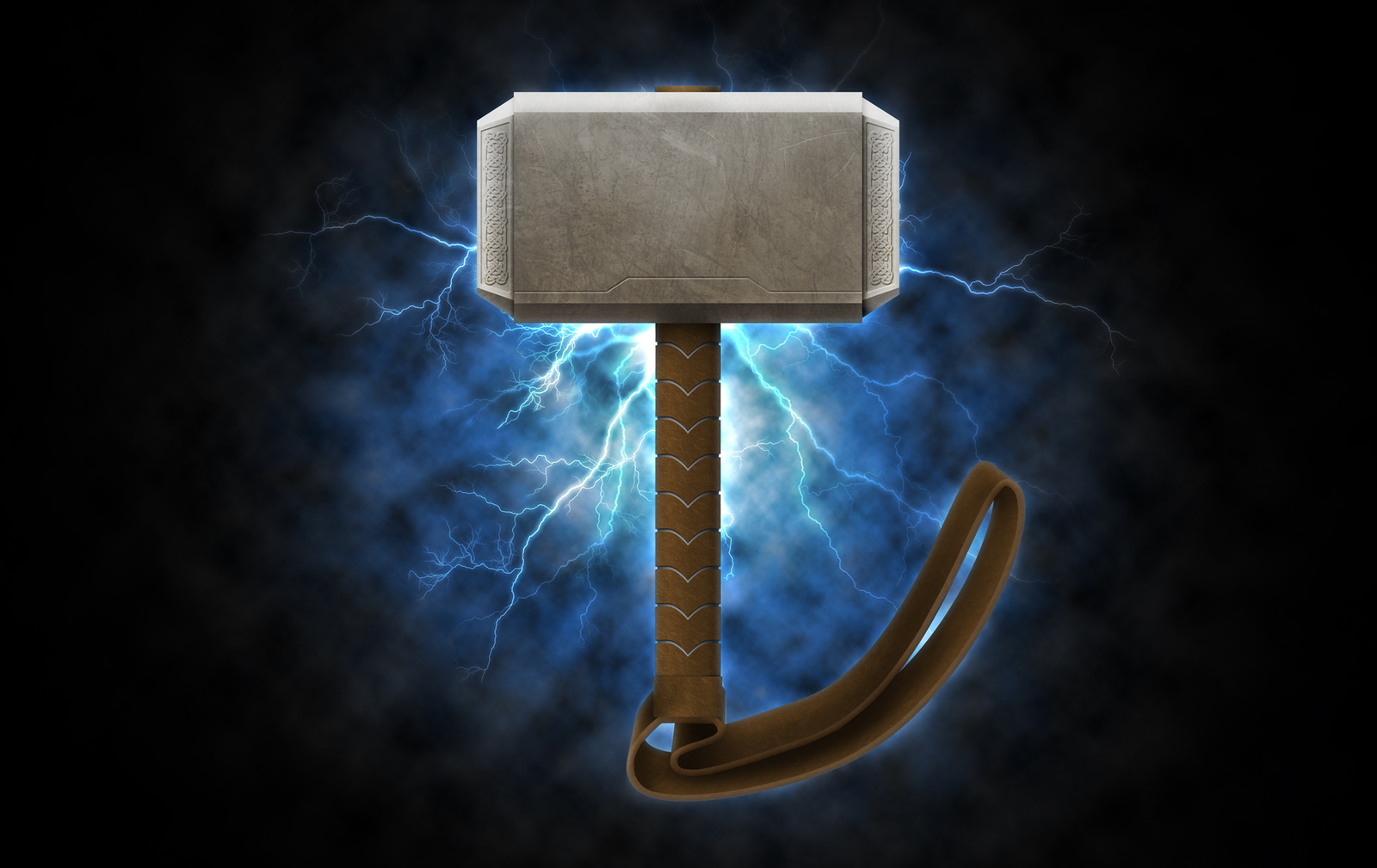 48 Thor S Hammer Wallpaper On Wallpapersafari