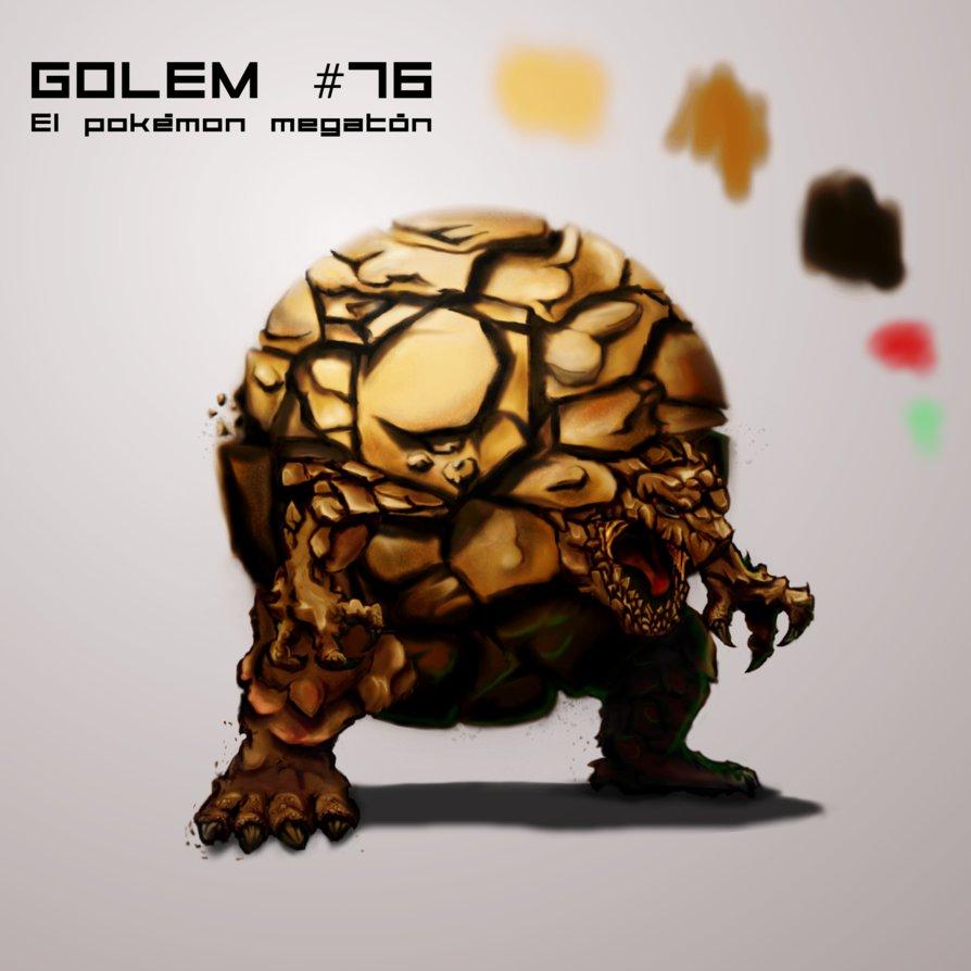 Pokemon Golem by zebraheads 894x894