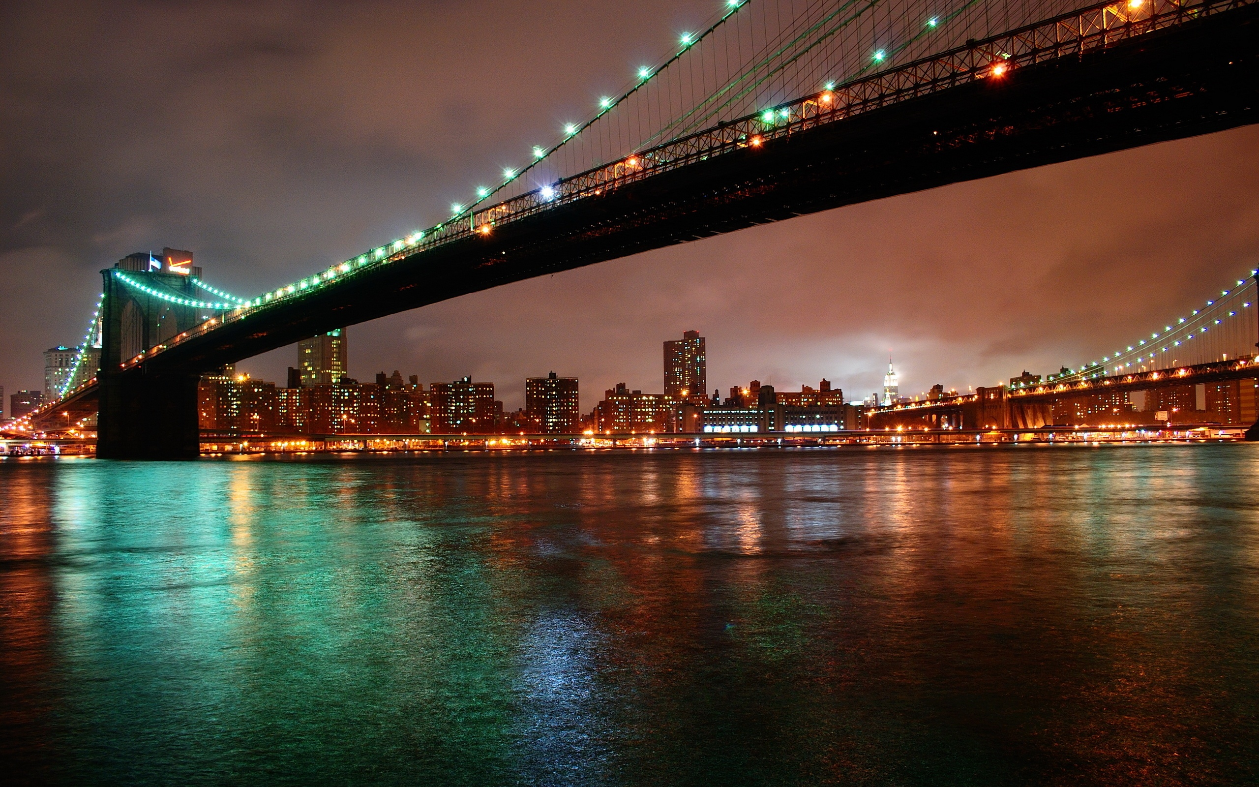 New York City Night Lights Wallpapers   2560x1600   1725615 2560x1600
