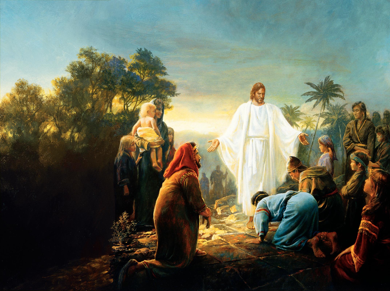 Jesus Christ Lds Wallpaper Wallpapersafari