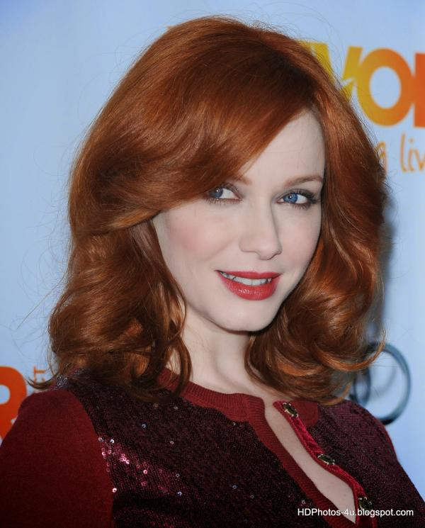 2015 Celebrity Photos Christina Hendricks HD Wallpapers 600x745