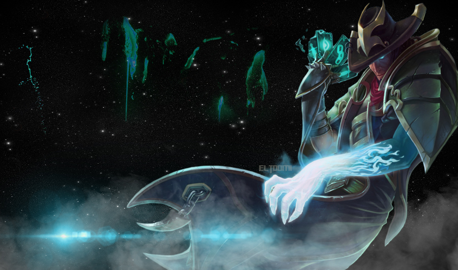 Twisted Fate Wallpaper by ElToomi 900x531