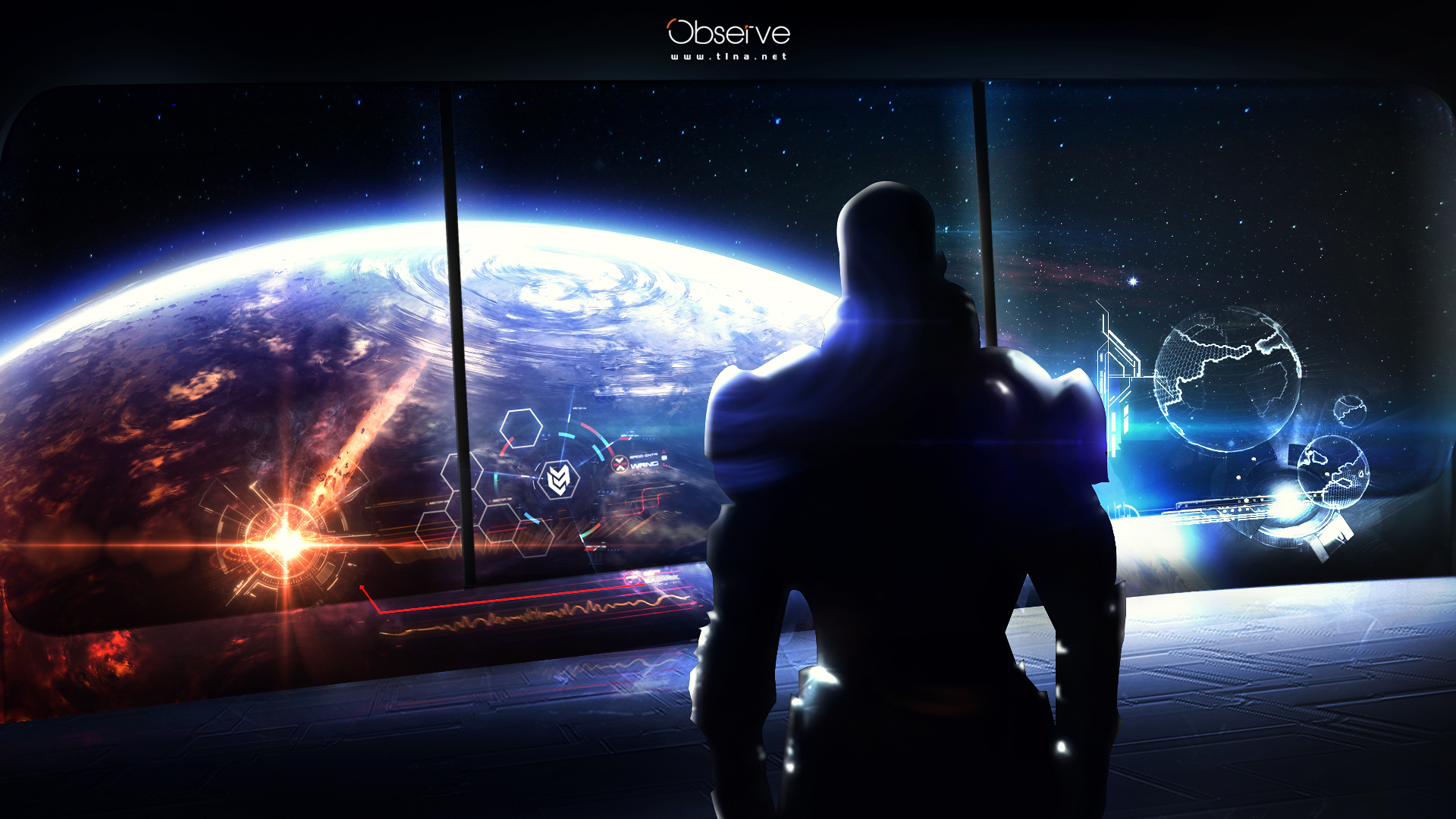 Observe   Mass effect by t1na 1920x1080