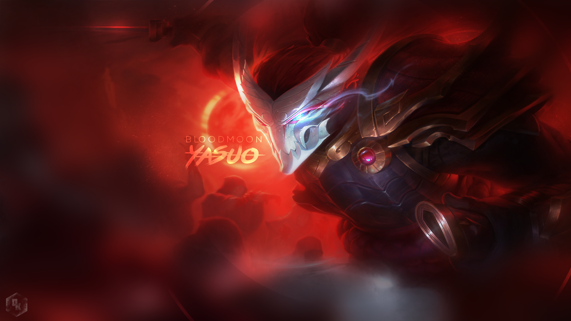 50 Blood Moon Yasuo Wallpaper On Wallpapersafari