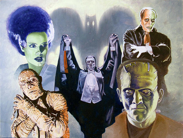 Universal Studios Monsters Wallpaper Universal pictures effectively 600x454