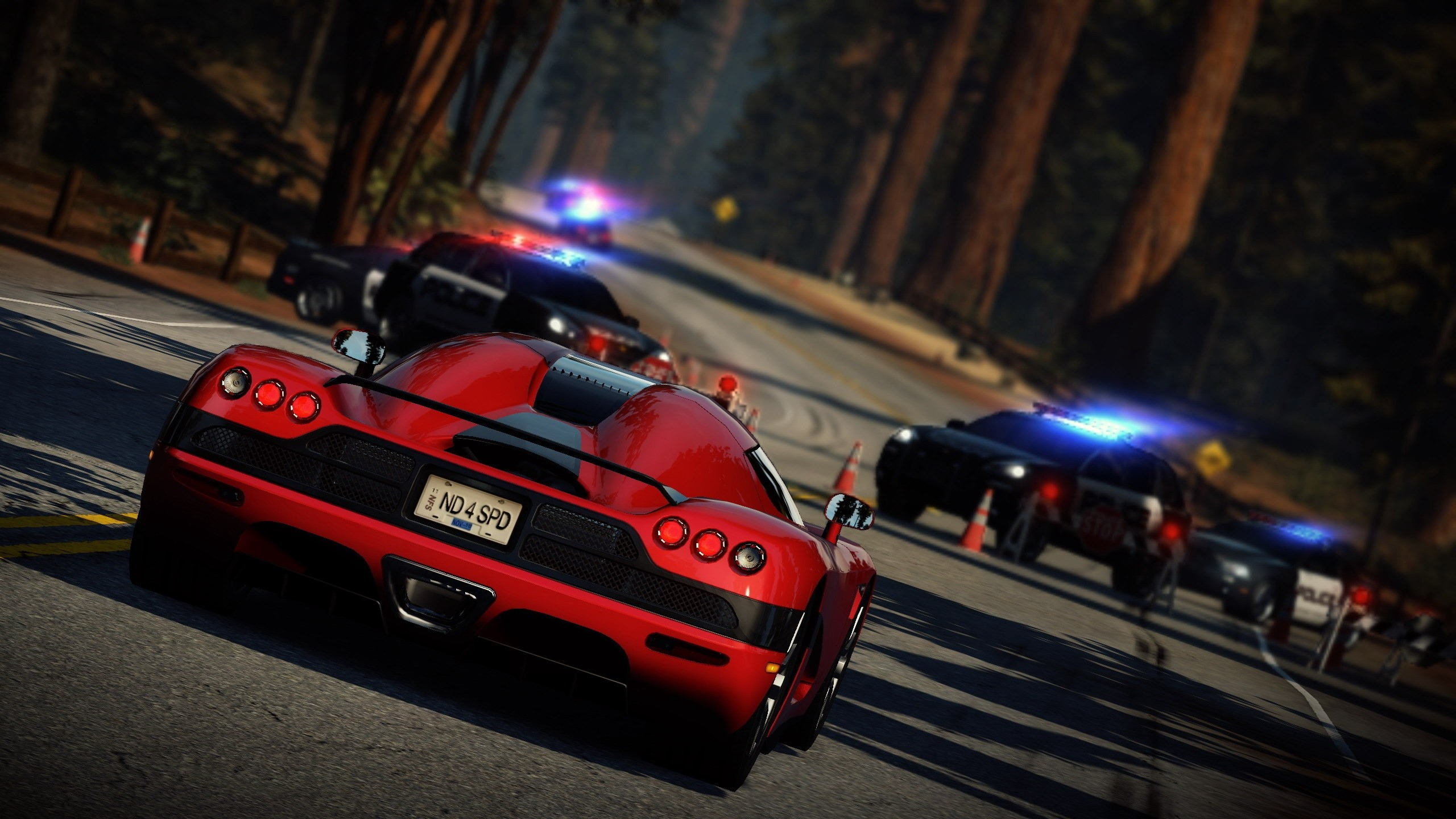 Download wallpaper 2560x1440 nfs need for speed car pocile 2560x1440
