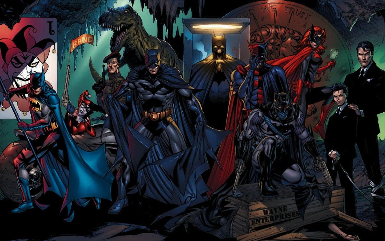 Batcave batman batwoman dc comics wallpaper HQ WALLPAPER   168248 1592x995